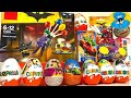 Киндер Сюрпризы,Unboxing Kinder Surprise Тачки,Фиксики,The Batman Lego,Маша и Медведь,Робокар Поли