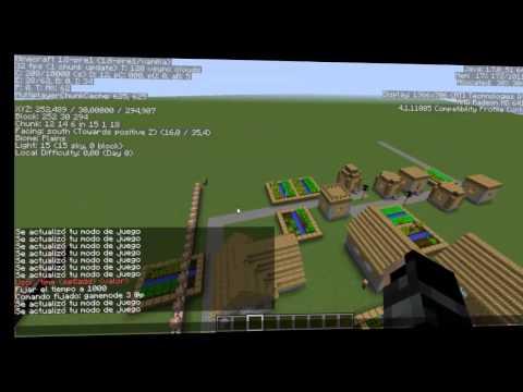 Minecraft: Crear una camara de seguridad sin MODs