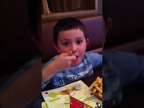 6 Year Old Max Eating Nandos Xxx Hot Sauce video