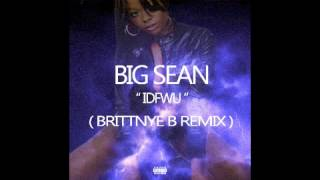 Big Sean E-40 IDFWU Girl Version ( ft. Brittnye B )