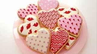 How To Decorate Cookies for Valentine