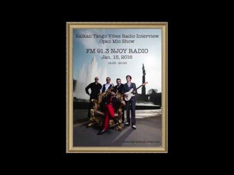 Balkan Tango Vibes Interview FM 91.3 NJOY RADIO WIEN
