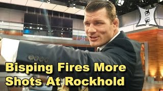 UFC's Michael Bisping Smack Talks Luke Rockhold As Daniel Cormier Stirs The Pot