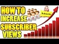 How To Increase Subscribers & Views Fast Free on Youtube In Urdu/Hindi Tutorials