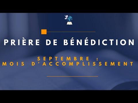 PRIERE MATINALE DU 01/09/20 : Prière de bénédiction du mois de Septembre par Apôtre Hervé BUNDIA