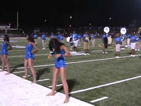 Velma Jackson High School Band VS Canton High School 2012
