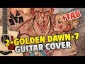 DIE ANTWOORD 2 GOLDEN DAWN 7 Fingerstyle Guitar Cover Tabs Chords Lyrics mp3