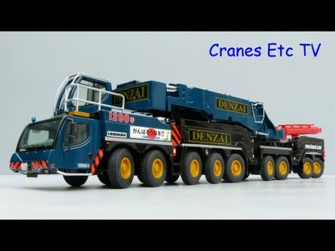 Cranes Etc TV: NZG Liebherr LTM 11200-9.1 Mobile Crane 'Denzai-Juki' Review