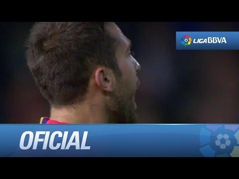 Seguimiento a Jordi Alba en el Valencia CF - FC Barcelona