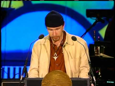 The Edge Inducts the Yardbirds into the Rock and Roll Hall of Fame