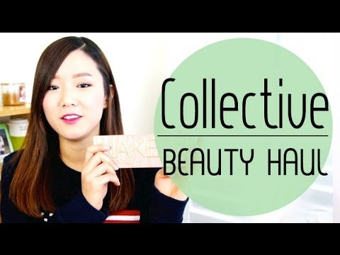Collective Beauty HAUL (Etude House, Holika Holika, Iope, Mamonde, Naked 3, Korean Makeup)