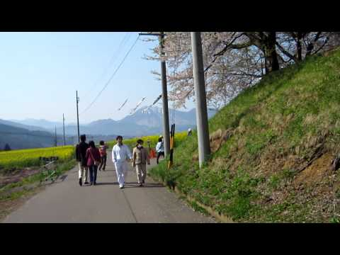 菜の花:飯山 Na No Hana (rape Blossoms) In Iiyama video