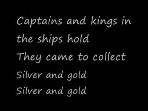 U2-Silver and Gold [Live] (Lyrics)