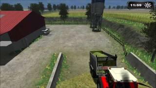 Landwirtschafts, Simulator, 2011, Maishäckseln, im, Multiplayer, HD, High-definition Video