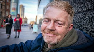 Homeless Man in Manchester Sleeping Rough After His Mother and Brother Died on the Same Day
