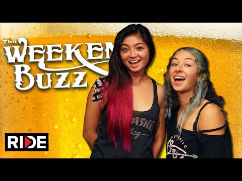 Lizzie Armanto & Allysha Bergado: Auby Taylor, Boba, Jeff Grosso & More! Weekend Buzz ep. 109 pt. 1