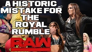 WWE Raw 12/18/17 Full Show Review & Results: FIRST ALL FEMALE ROYAL RUMBLE MATCH ANNOUNCED