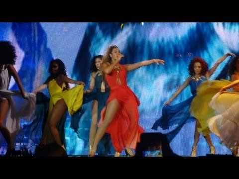 Beyonce - Standing On the Sun (Antwerp, Sportpaleis 31.05, Mrs. Carter Show World Tour)