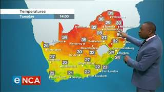 Weather Forecast for 19 November 2019