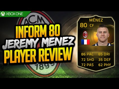 FIFA 15 Ultimate Team | INFORM Jérémy Ménez (80) Player Review w/ Gameplay & In Game Stats!!!