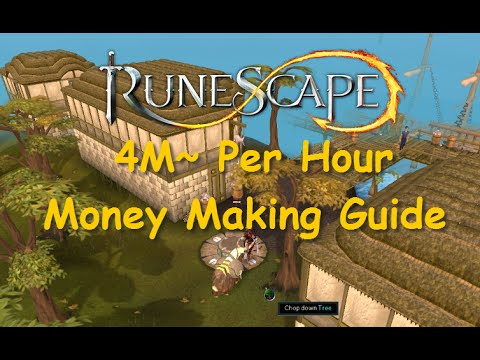 Runescape Guide: 4M~ Money Making Guide [Legacy Mode] iAm Naveed