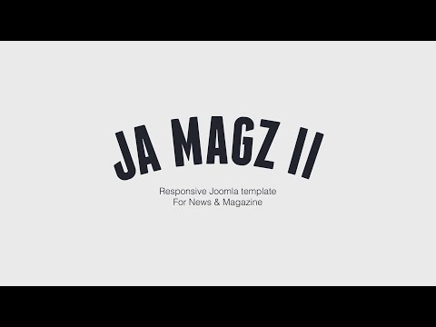 JA Magz - Responsive Joomla template for News & Magazine