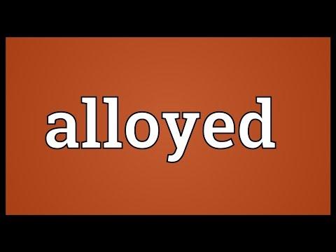 Header of Alloyed
