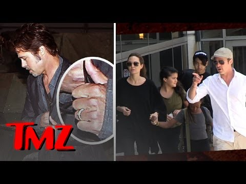 Brad & Angelina – The Secret Marriage!