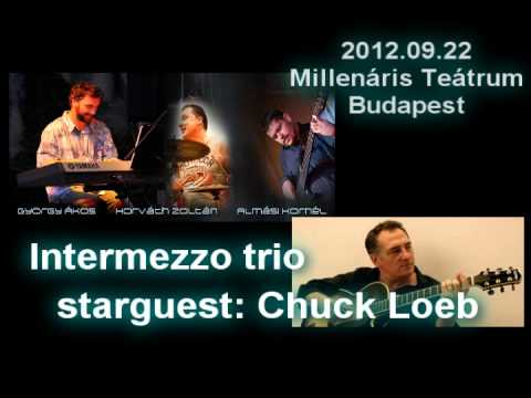 Chuck Loeb video message: concert in Budapest with Intermezzo trio