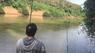 câu cá,đánh lancer ở sông bé /kết quả bất ngờ.