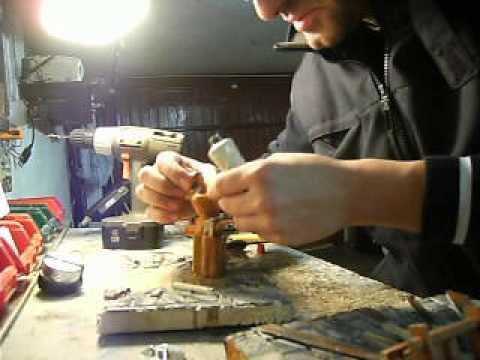 costruzione statuina presepe meccanico