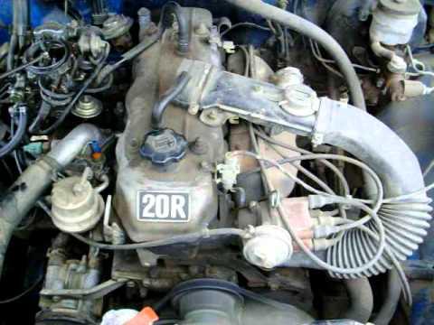 1980 Toyota 20R 4 cylinder engine