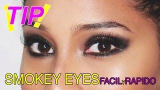 Como hacer un Smokey Eye Facil y Rapido