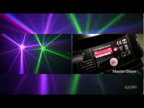 American DJ Sunray Tri LED Review - Full HD Deutsch