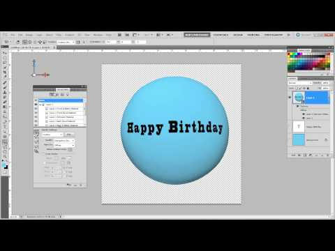 3d Ballon Tutorial : Photoshop CS5 Extended