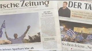 Almanlar Yunan Halkının Cevabını Beğenmedi