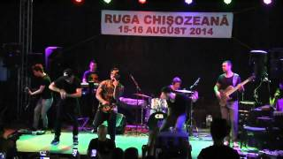 Alex Velea - Da-o tare @ Ruga Chisozeana ( 15.08.2014 ) - Live Band