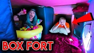 I Built A Box Fort Mansion In My Apartment!