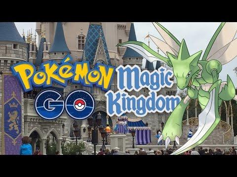 Pokemon GO fun at Walt Disney World's Magic Kingdom
