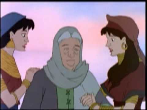 Animated Bible Story Of Ruth On Dvd video