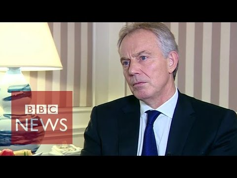 Tony Blair: 'Boots on ground' needed to defeat Islamic State militants - BBC News