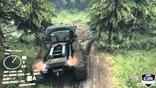 Spin Tires Gameplay PC/HD 7750 (Romana) [Camionul]