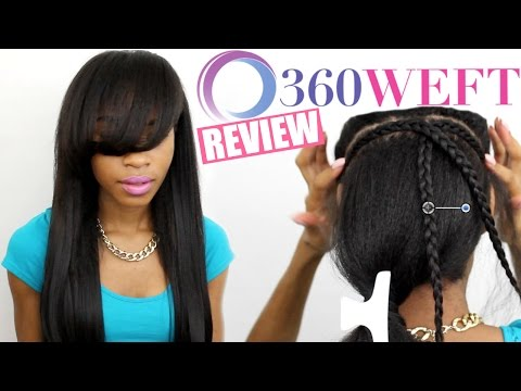 360 Weft Hair Review► 15 Minute Weave?