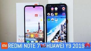 Redmi Note 7 vs Huawei Y9 2019  - Speed Test - ¿Cual es mas rapido.?🔥🔥