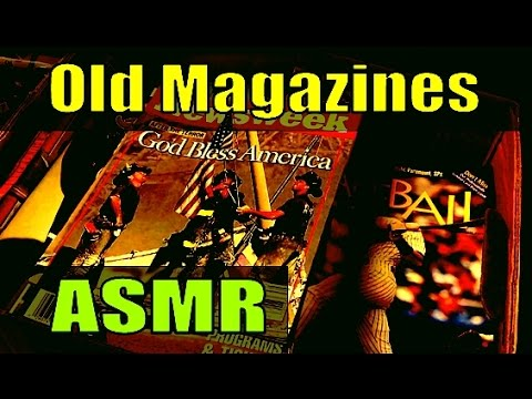 Old Magazines - 1 Hour ASMR Sleep Aid