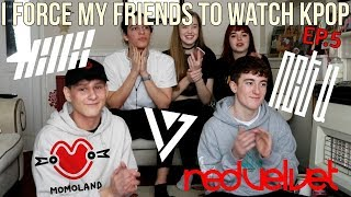 Download Lagu I FORCE MY FRIENDS TO REACT TO KPOP EP.5 (iKON,NCT ,RED VELVET,MOMOLAND,SEVENTEEN) | Lexie Marie Gratis STAFABAND