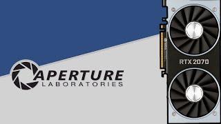 Portal 2 gameplay RTX 2070 1080p   Ultra settings