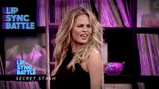 """Chrissy Teigen performs """"...Baby One More Time"""" 