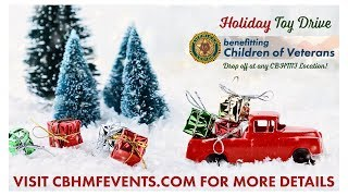 CBHMF's Holiday Toy Drive For Children of Veterans