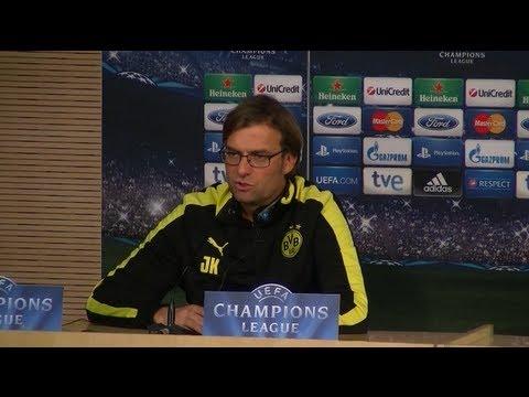 BVB Pressekonferenz vom 5.11.2012 vor dem Spiel gegen Real Madrid Borussia Dortmund Champions League
